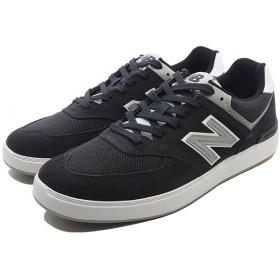 NEW BALANCE ニューバランス ヌメリック AM574BKR [サイズ:26.5cm (US8.5) Dワイズ] [カラー:ブラック]