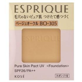 コーセー エスプリーク ピュアスキンパクトUVBO-305ベージュオークル9.3g(レフィル)