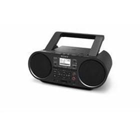 Bluetooth対応 CDラジオ ブラック ZS-RS81BT-C