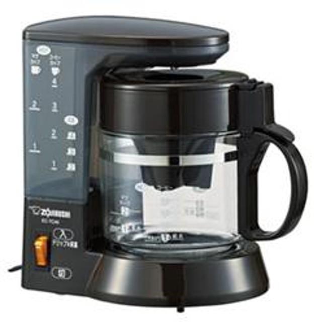 コーヒーメーカー 「珈琲通」 カップ4杯分 ブラウン EC-TC40-TA