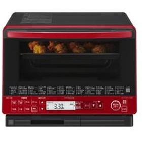 1段オーブン・過熱水蒸気オーブンレンジ レッド MRO-VS8-R
