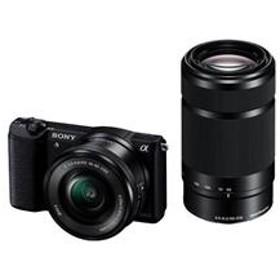 ミラーレス一眼カメラ α5100(アルファ5100) ダブルズームレンズキット ブラック ILCE-5100Y-B
