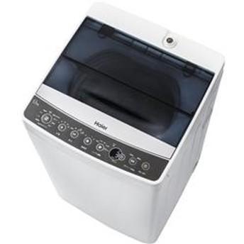 全自動洗濯機 (洗濯5.5kg)「Haier Joy Series」 ブラック JW-C55A-K