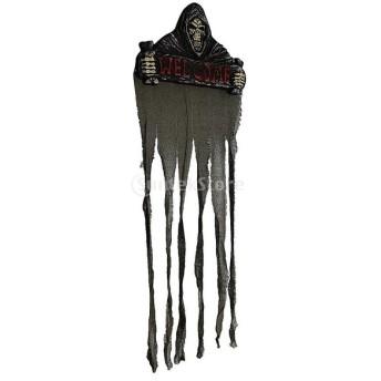 布製 悪魔 ドアのカテン パーティープレー お化け屋敷 小道具 装飾