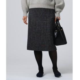 UNTITLED / アンタイトル ◆フローレンスツィードタイトスカート