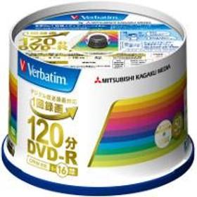 映像用 DVD-R 16倍速 50枚 インクジェット対応ワイド VHR12JP50V4
