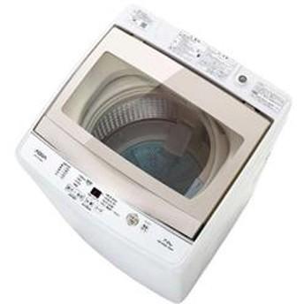 全自動洗濯機 [クリアガラストップ] ホワイト【ノンインバータ/洗濯7.0Kg】★大型商品配送対象商品 AQW-GS70G-W