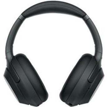 ハイレゾ対応 ワイヤレスノイズキャンセリングステレオヘッドセット ブラック WH-1000XM3-B