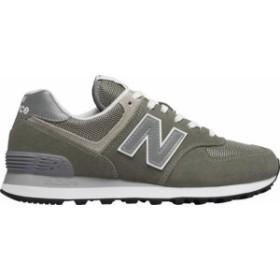 53b8e0407582a ニューバランス レディース スニーカー シューズ W574 Core Sneaker Grey/White Suede/Mesh