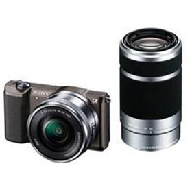 ミラーレス一眼カメラ α5100(アルファ5100) ダブルズームレンズキット ブラウン ILCE-5100Y-T