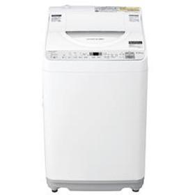 タテ型洗濯乾燥機 シルバー【洗濯5.5kg/乾燥3.5kg】★大型配送対象商品 ES-TX5C-S