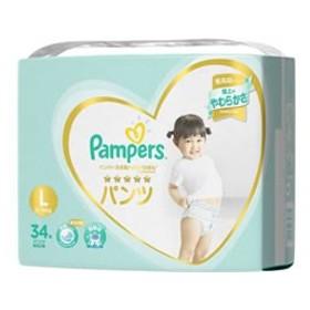 P&G/パンパース肌へのいちばんパンツLサイズ スーパージャンボ34枚