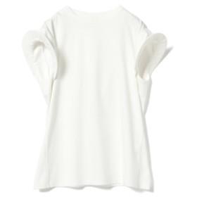 AKIRANAKA / コンケーブショルダー Tシャツ レディース Tシャツ WHITE 2