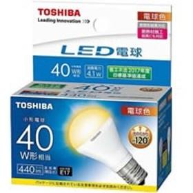 東芝ライテック/LED ミニクリプトン形 440lm 電球色