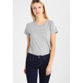 ギャップ Tシャツ トップス カットソー レディース【GAP VINT CREW - Basic T-shirt - heather grey】heather gr
