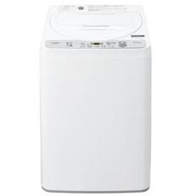 全自動洗濯機 ホワイト系【洗濯5.5kg】 ES-GE5C-W
