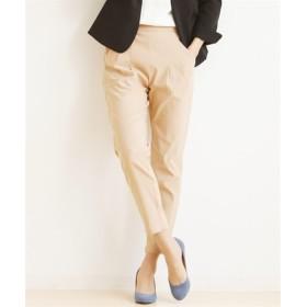 【接触冷感】すごく伸びるきれいめテーパードパンツ (レディースパンツ),pants