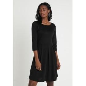 ヴィラ ドレス ジャージードレス レディース【Vila VITINNY SLEEVE DOLL DRESS - Jersey dress - black】black