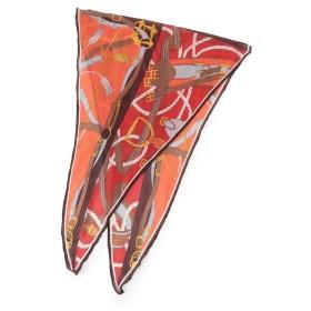 UNTITLED / アンタイトル ダイヤ型シルクカシミヤスカーフ