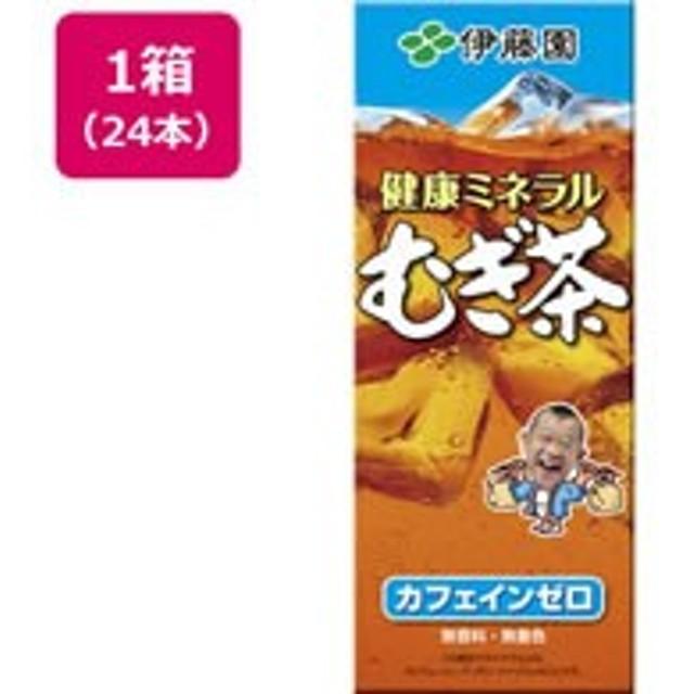 伊藤園/健康ミネラルむぎ茶 250ml 24本