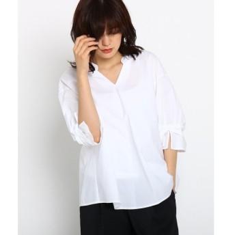 INDIVI / インディヴィ ソフトブロードシャツ