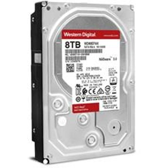 WD RED 3.5インチ 内蔵HDD 8TB WD80EFAX
