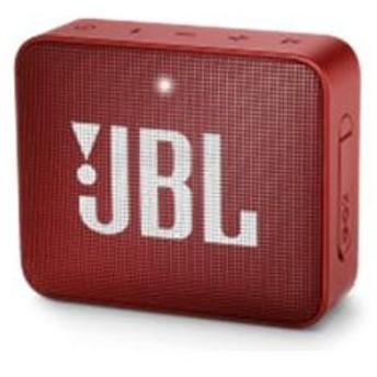 Bluetoothワイヤレス防水スピーカー JBL GO2 レッド JBLGO2RED