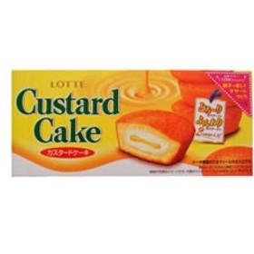 ロッテ/カスタードケーキ 6個入り