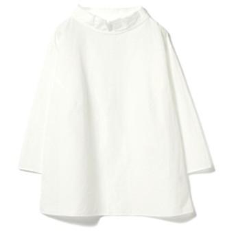 fennica <WOMEN>homspun / ボートネック プルオーバーブラウス レディース カジュアルシャツ WHITE ONE SIZE