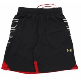 アンダーアーマー(UNDER ARMOUR)UA Select 9in ショートパンツ #1305735 BLK/RED/MGD BK (Men's)
