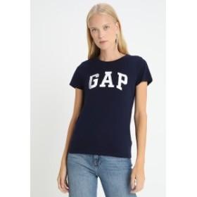 ギャップ Tシャツ トップス カットソー レディース【GAP TEE - Print T-shirt - navy uniform】navy uniform