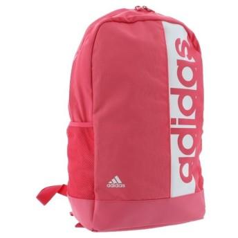 アディダス リニアロゴ バックパック (DM7660) 25L デイパック リュック : ピンク adidas