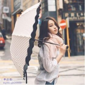 日傘 晴雨兼用 軽量 UVカット 遮熱 遮光 UVカット 折りたたみ傘 100% 完全遮光 紫外線対策 遮熱効果 傘 レディース ボーダー柄日傘 折り