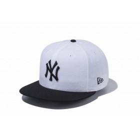 ニューエラ(NEW ERA) 9FIFTY ニューヨーク・ヤンキース ホワイト × ブラック ブラックバイザー 11308463