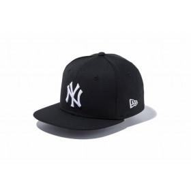 ニューエラ(NEW ERA) Child 9FIFTY ニューヨーク・ヤンキース ブラック × ホワイト 11596318