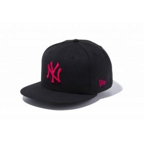 ニューエラ(NEW ERA) 9FIFTY ニューヨーク・ヤンキース ブラック × ストロベリー 11308472