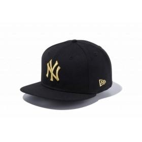 ニューエラ(NEW ERA) 9FIFTY ニューヨーク・ヤンキース ブラック × ゴールド 11308473