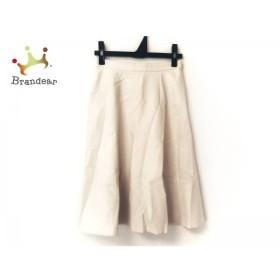 ニジュウサンク 23区 スカート サイズ30 XS レディース アイボリー             スペシャル特価 20190523【人気】