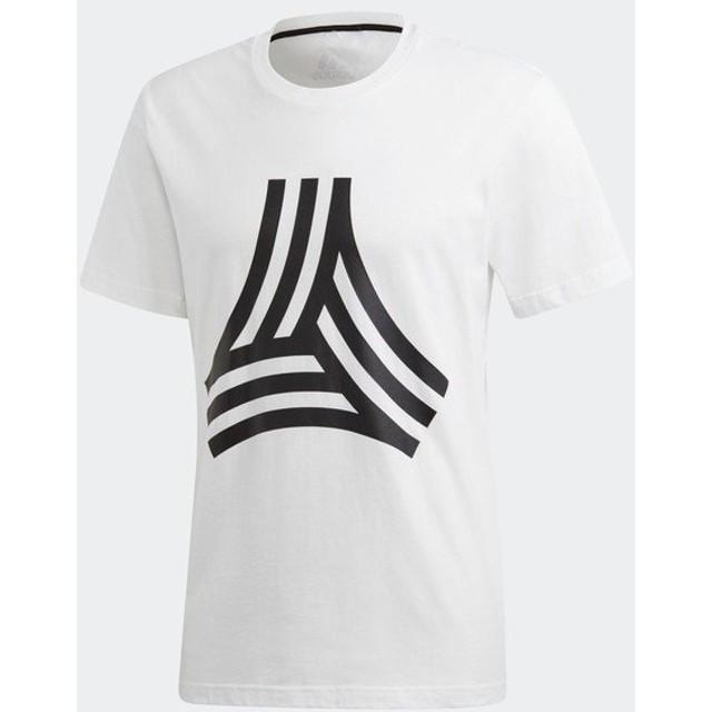アディダス(adidas)サッカー 半袖Tシャツ(メンズ)TANGO STREET ビッグロゴTシャツ(DP2694)2018FW