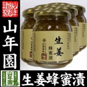 国産 養蜂家のはちみつ仕込み 生姜蜂蜜漬け 280g×6個セット 送料無料 紅茶に入れて 生姜焼き 煮物 お土産 セットお茶 送料無料 お茶 ギ