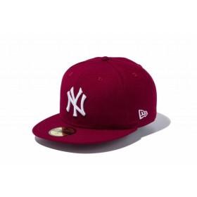 ニューエラ(NEW ERA) 59FIFTY MLB ニューヨーク・ヤンキース カーディナル × ホワイト 11308556