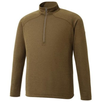 MIZUNO SHOP [ミズノ公式オンラインショップ] ブレスサーモライトインナージップネックシャツ[メンズ] 34 ファーグリーン A2MA7566