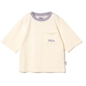 FILA ×BEAMS mini / ビック Tシャツ (90~150㎝) キッズ カットソー OFF WHT 130