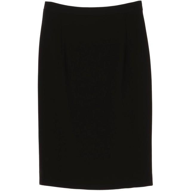 AKIKO OGAWA. [アキコオガワ] バックサテンジョーゼットスカート スーツ・セットアップ/スカート,ブラック