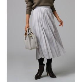 UNTITLED / アンタイトル Aラインプリーツスカート