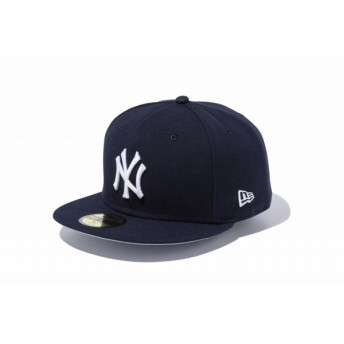 ニューエラ(NEW ERA) 59FIFTY GORE-TEX ニューヨーク・ヤンキース ネイビー × スノーホワイト 11434033