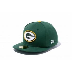 ニューエラ(NEW ERA) 59FIFTY NFL グリーンベイ・パッカーズ シラントログリーン × チームカラー 11596358