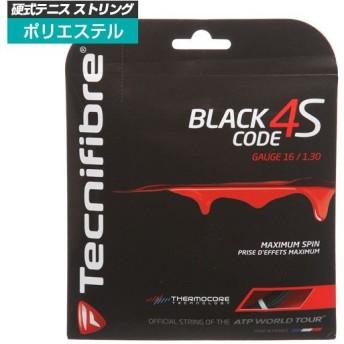 [単張パッケージ品]テクニファイバー(Tecnifibre) ブラックコード4S BlackCode4S(120/125/130)硬式テニスガットポリエステルガットTFG516/TFG517/TFG518
