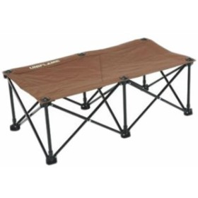 ユニフレーム(UNIFLAME) キャンプ チェア リラックスベンチ ブラウン×ブラック 680315 【アウトドア バーベキュー 椅子 イス ベンチ