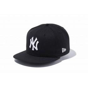ニューエラ(NEW ERA) 9FIFTY ニューヨーク・ヤンキース ブラック × ホワイト 11308471